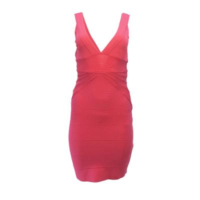 Fuschia Bandage Dress